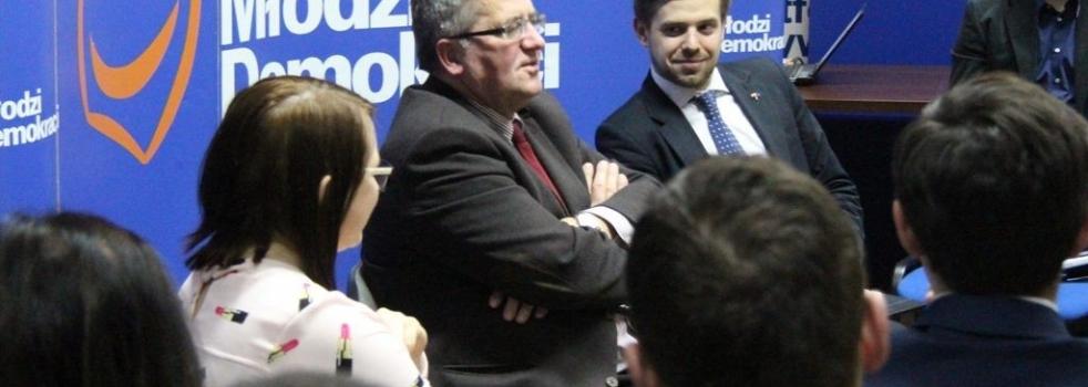 Bronisław Komorowski gościem koła
