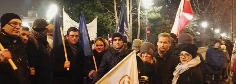 Protestujemy pod Sejmem
