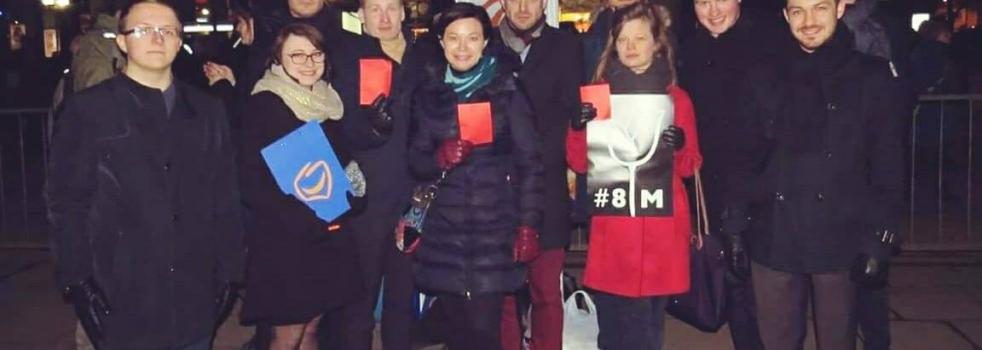 #StrajkKobiet w Dzień Kobiet