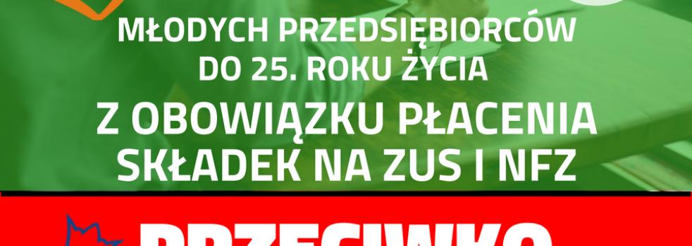 PiS przeciwko młodym przedsiębiorcom!