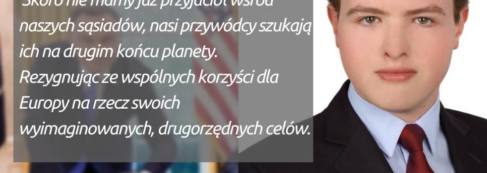 #OkiemMłodegoDemokraty: Paolo Tinti o polityce zagranicznej Andrzeja Dudy: