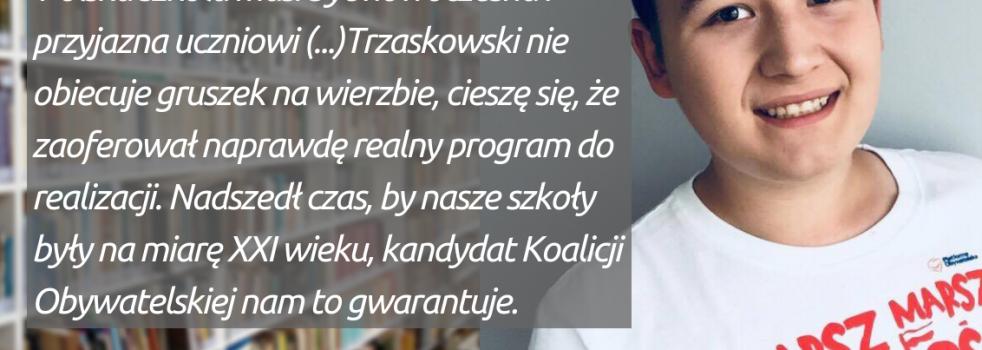 #OkiemMłodegoDemokraty 🧐🧐- Miłosz Sułowski o programie edukacyjnym