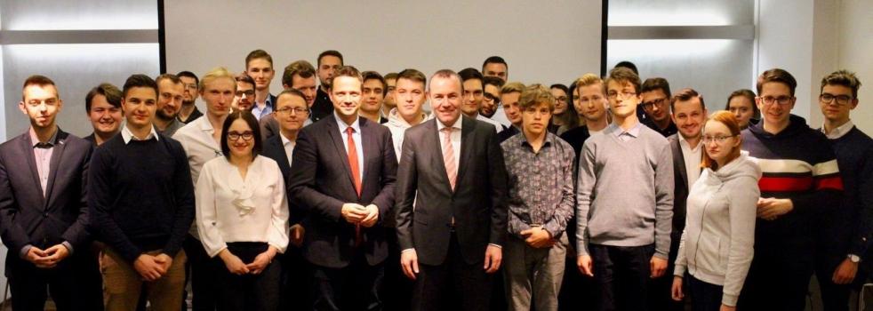 Europejskie spotkanie z Manfredem Weberem