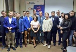 Spotkanie z warszawskimi politykami PO