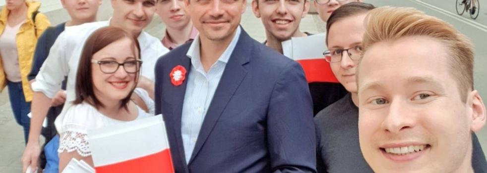 Dzień Flagi z Rafałem Trzaskowskim